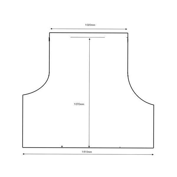 ランクル70専用トランクトレイ/ランドクルーザー70(ラゲッジマット)立体 防水 縁高【釣り/アウトドア/レジャー】 PRO-TECTA|pro-tecta-shop|03