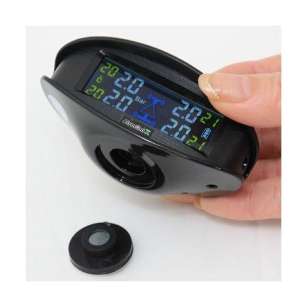 訳あり特価品 エアモニX  エアモニ エックス AirmoniX タイヤ空気圧センサー PRO-TECTA|pro-tecta-shop|03
