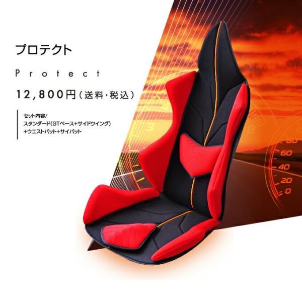 ポイント5倍 アメージングGT プロテクト  車の腰痛対策におすすめクッション 世界初の体型、悩みに合わせフルカスタマイズ  《ジャーマン・ブラック》|pro-tecta-shop|08