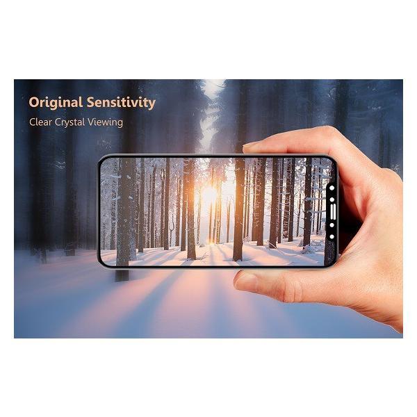 iPhonex専用 液晶保護ガラスフィルム アサヒガラスTempered Glass使用 高度9H 最高 No.1クリックポスト発送 送料無料|pro-tecta-shop|02