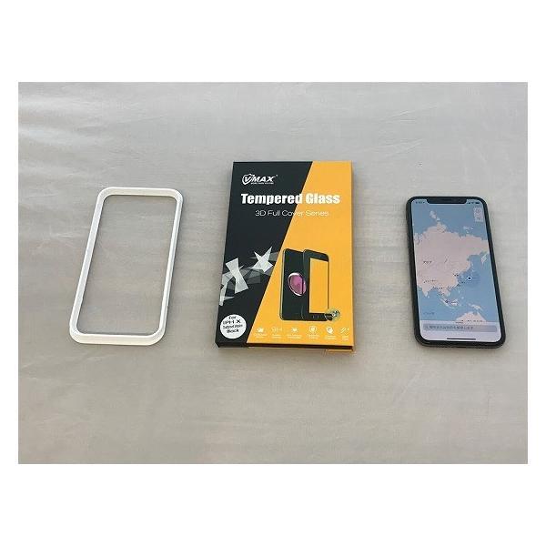 iPhonex専用 液晶保護ガラスフィルム アサヒガラスTempered Glass使用 高度9H 最高 No.1クリックポスト発送 送料無料|pro-tecta-shop|07