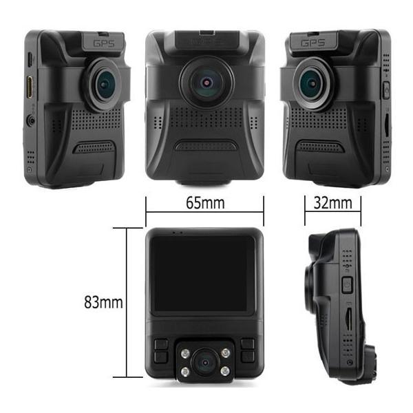 グルドラ D-Dash SONYセンサー おすすめ 2カメラ GPS Gセンサー搭載 あおり運転対策 microSD16GB付属 PRO-TECTA|pro-tecta-shop|07