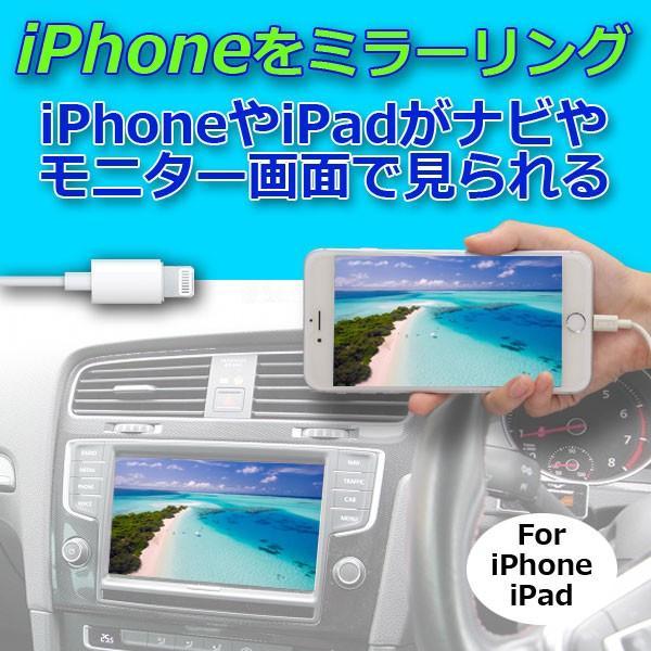 ミラーリングアダプタ iPhone,iPad用PML2   HDMI出力とRCAアナログ出力の2系統を搭載し、同時出力が可能。 pro-tecta-shop