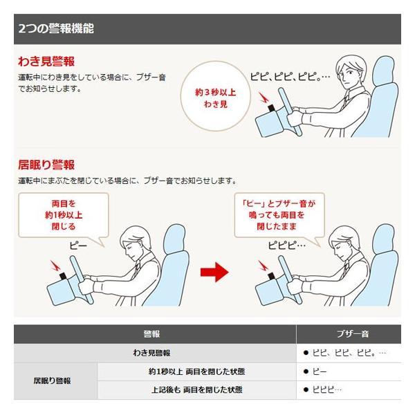 わき見・居眠り運転警報器 OKITE(オキテ)EWS-CM1 Yupiteru(ユピテル)|pro-tecta-shop|02