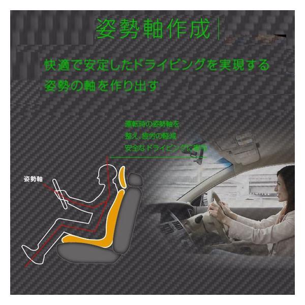ポイント5倍 ヘッドレスト付きドライビングサポートクッション リバースポルトプラス 長距離ドライブなどで重宝!本体+RSヘッド+ウエストパット(2枚)|pro-tecta-shop|06