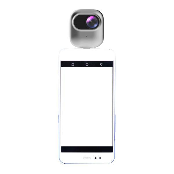 撮ラピコ(トラピコ)360度カメラ Androidスマホへ直挿し パノラマ映像・VRビデオ720度(360+360)SNSに簡単共有できるカメラ|pro-tecta-shop|04