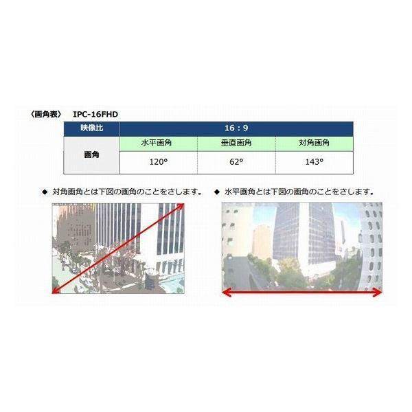 Viewla(ビューラ) IPC-16FHD  屋外用防水カメラ(IP66準拠) 200万画素 スマホ、タブレットで閲覧可能 Plug&Playで かんたん接続・設定|pro-tecta-shop|10