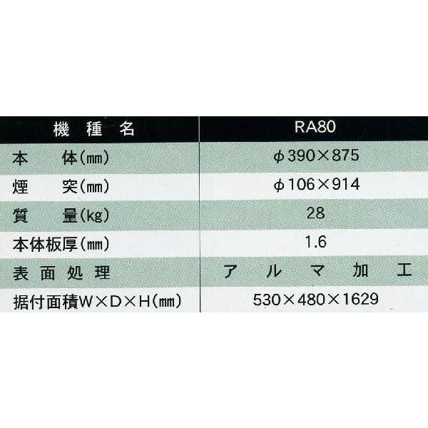 焼却炉 家庭用 RA-80 ミツワ東海|pro-yama|05