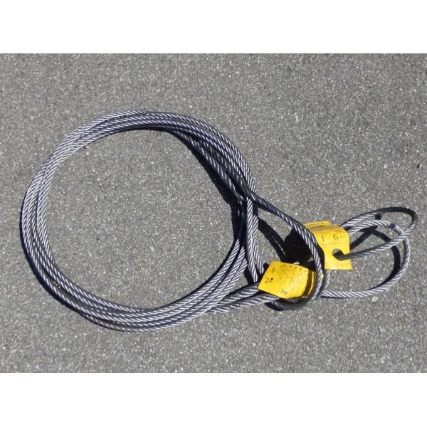 JIS 玉掛けワイヤー ロープ φ9mmx1m