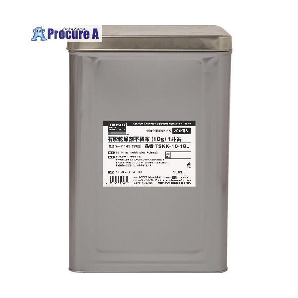 TRUSCO 石灰乾燥剤 (耐水、耐油包装) 10g 700個入 1斗缶 TSKK-10-18L  ▼149-7862 トラスコ中山(株)