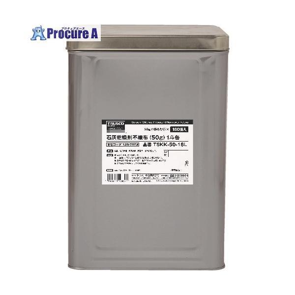 TRUSCO 石灰乾燥剤 (耐水、耐油包装) 50g 180個入 1斗缶 TSKK-50-18L  ▼149-7864 トラスコ中山(株)