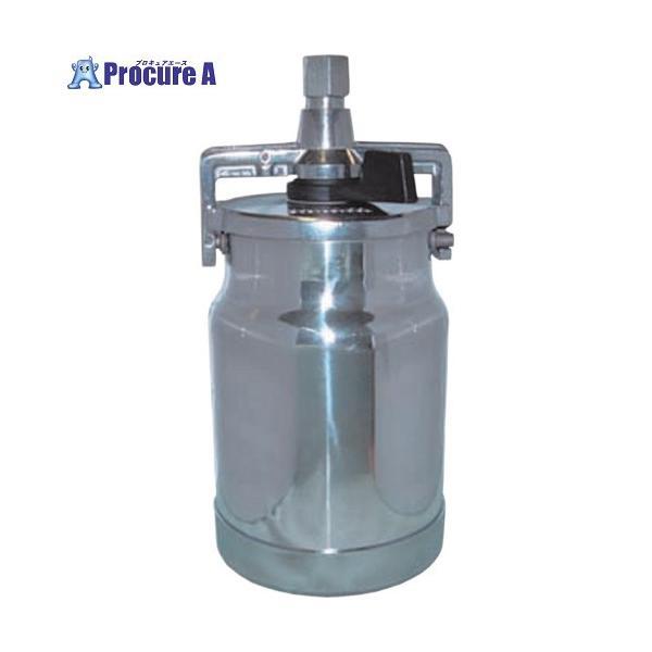 デビルビス 吸上式塗料カップアルミ製レバータイプ(容量1000cc)G1/4▼324-8496CFTランズバーグ(株)