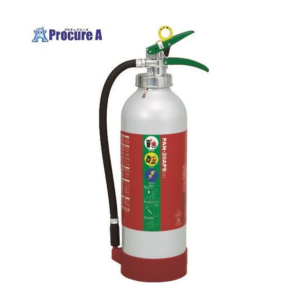 ドライケミカル ABC粉末消火器20型 PAN-20APS1 ▼859-4405 日本ドライケミカル(株)