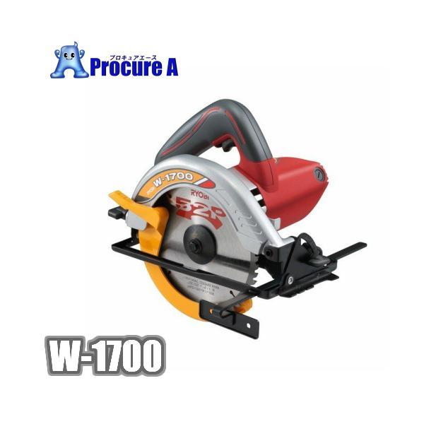 ストア2倍 丸ノコリョービRYOBIW-1700電気丸ノコノコ刃外径165mm歯数52P電気丸鋸チップソー付
