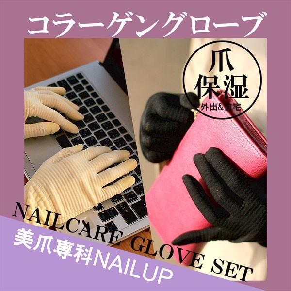 ネイルケア - 爪保湿保護グローブ・手袋2枚セット - プレゼントにおすすめ - ネイルアップ - 代引不可-|product-factory-jp