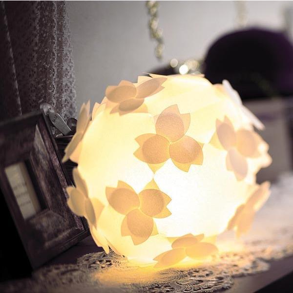 フロアライト テーブルランプ さくら おしゃれ 照明器具 ソケット コード 8w蛍光灯電球付 LED対応 本体組立出荷 コハルライト|product-factory-jp|02