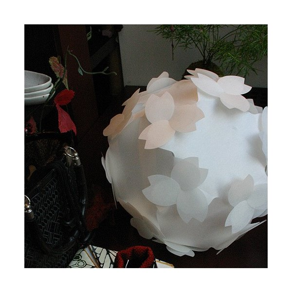 フロアライト テーブルランプ さくら おしゃれ 照明器具 ソケット コード 8w蛍光灯電球付 LED対応 本体組立出荷 コハルライト|product-factory-jp|05