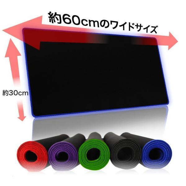 マウスパッド 光学式 大判 大型 ゲーミング レーザー式 ゲーミングマウスパッド 防水 撥水 無地 キーボードマット Y500 productsstore 02