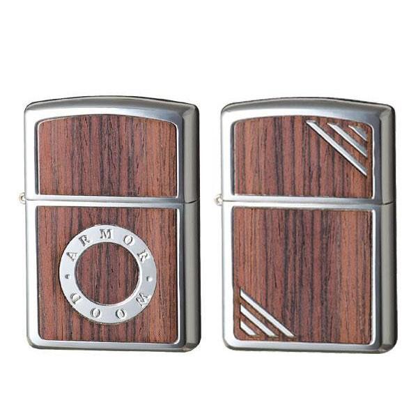 Zippo(ジッポー) ライター アーマー・ローズウッド おしゃれ プレゼント ギフト 高級感 かわいい 木 デザイン シンプル