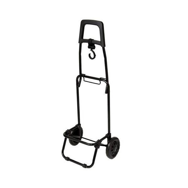 レップ COCORO(コ・コロ) ショッピングカート タイヤ着脱式スチールフレーム Rサイズ ブラック 422762