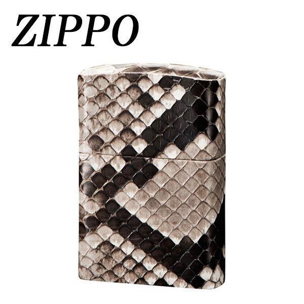 ZIPPO 革巻 パイソン 日本製 ジッポー オイル ギフト おしゃれ プレゼント zippo 父の日 ライター 手作り ジッポ