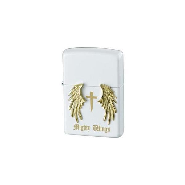 ZIPPO マイティウイングスホワイト オシャレ ライター かわいい デザイン お洒落 プレゼント 贈り物 ギフト