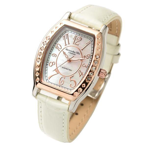 アレサンドラオーラ Alessandra Olla 腕時計 AO-1850 WH