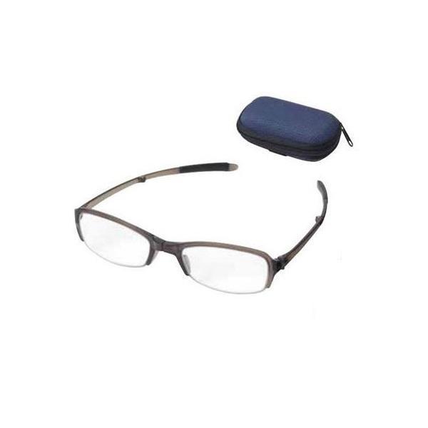 老眼鏡 シンプルビジョン コンパクト SV-801 GR +3.00 071545 女性用 メンズ 折りたたみ 携帯 めがね メガネ レディース おしゃれ 眼鏡 収納 男性用
