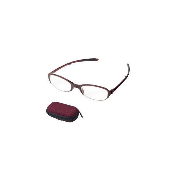 老眼鏡 シンプルビジョン コンパクト SV-401 WI +2.50 071550 おしゃれ レディース メンズ メガネ 携帯 収納 めがね 眼鏡 女性用 折りたたみ 男性用