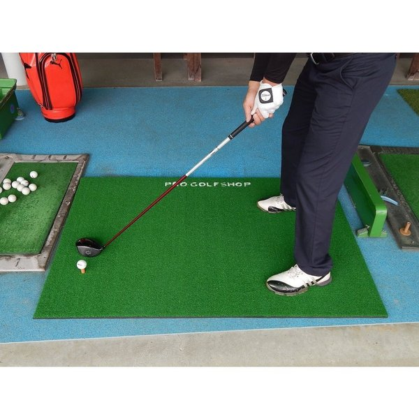 【高グレード・低価格】BIGドライビングマット150cm×100cm(ゴムティー付き)特大ショットマット ゴルフ練習マット ゴルフ 練習|progolf|16
