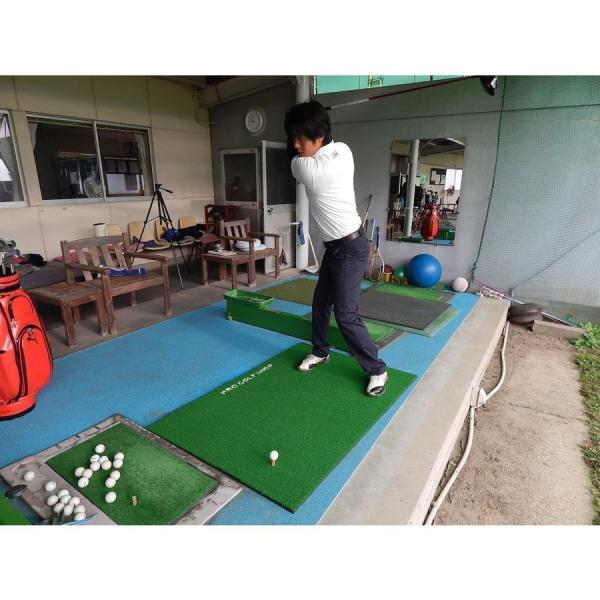 【高グレード・低価格】BIGドライビングマット150cm×100cm(ゴムティー付き)特大ショットマット ゴルフ練習マット ゴルフ 練習|progolf|17