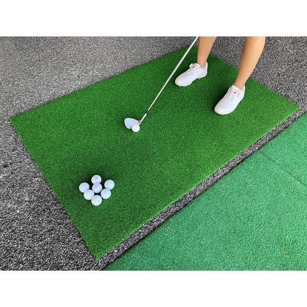 [訳ありアウトレット]ゴルフ・アプローチ練習&スタンスマット・CPGショットマット90cm×140cm[高密度人工芝]【ゴルフ練習用マット・ゴルフマット】|progolf|04