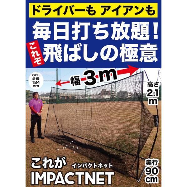 ゴルフネット インパクトネット IMPACTNET ゴルフ 練習|progolf|02