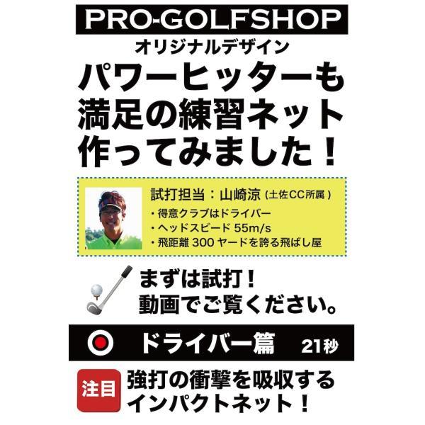 ゴルフネット インパクトネット IMPACTNET ゴルフ 練習|progolf|03
