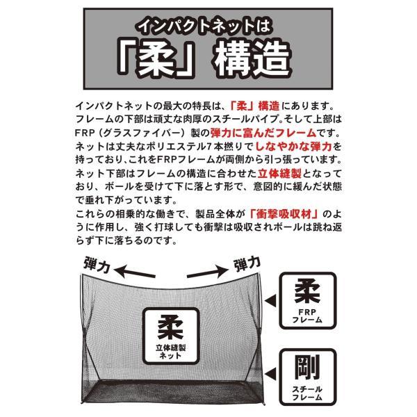 ゴルフネット インパクトネット IMPACTNET ゴルフ 練習|progolf|05