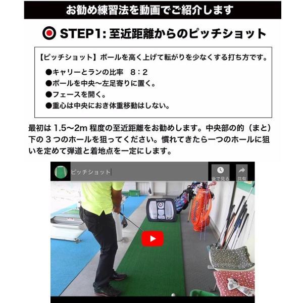 アプローチ 練習 3点セット PGSチッピングネット&HIYOKOボール&アプローチショットマット(AP-MAT) ゴルフ 練習|progolf|05