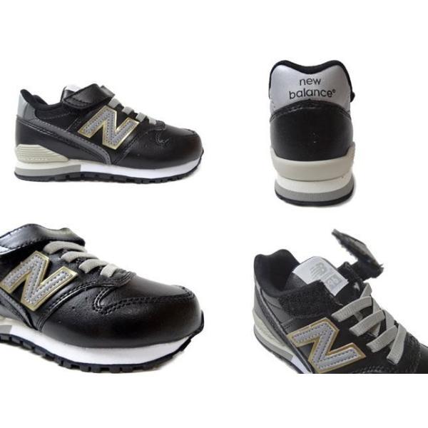 ニューバランス NEW BALANCE KV996 ブラック ホワイト キッズ ジュニア スニーカー 靴|progres|02