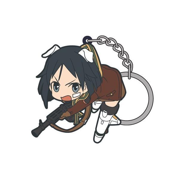 【ネコポス/ゆうパケット対応】コスパ ブレイブウィッチーズ 管野直枝つままれキーホルダー