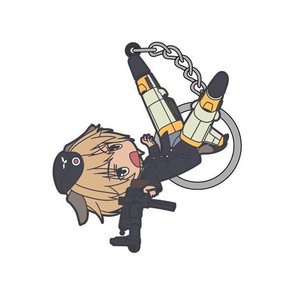 【ネコポス/ゆうパケット対応】コスパ ブレイブウィッチーズ ヴァルトルート・クルピンスキーつままれキーホルダー