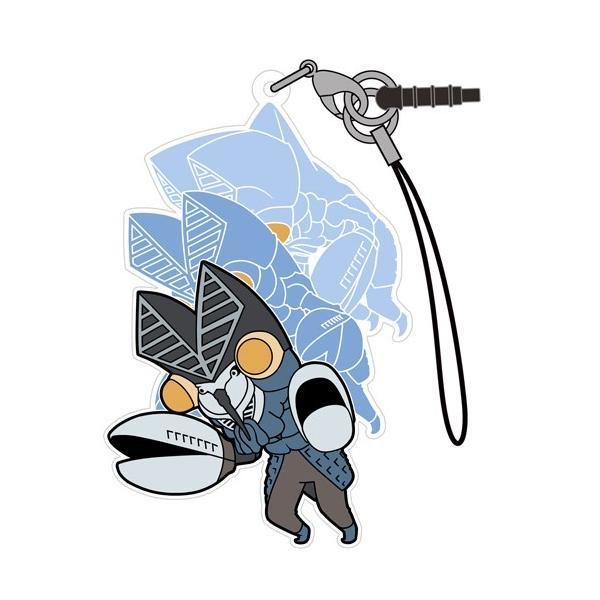 【ネコポス/ゆうパケット対応】コスパ ウルトラマン バルタン星人 つままれストラップ