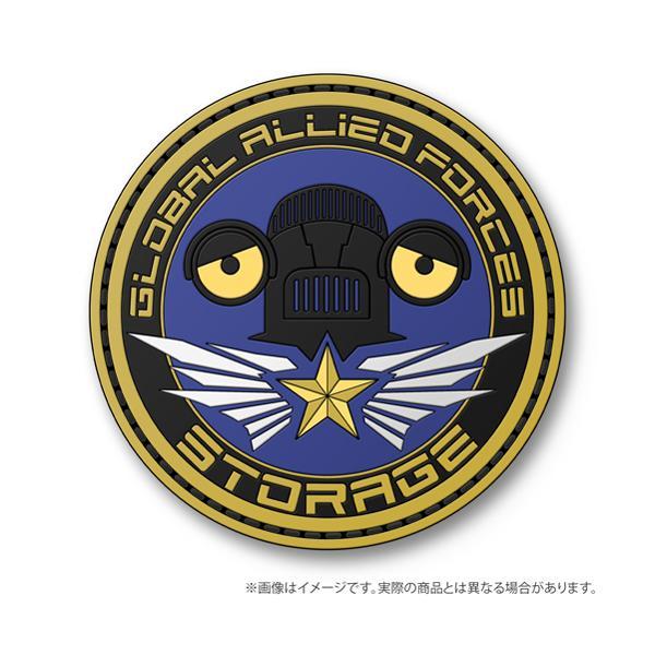 【ネコポス/ゆうパケット対応】コスパ ウルトラマンZ 対怪獣特殊空挺機甲隊「ストレイジ」 部隊章PVCパッチ