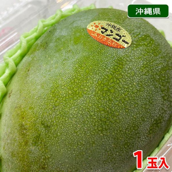 沖縄県産 キーツマンゴー 1玉入パック(600g〜800g)