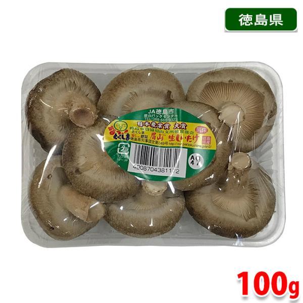 徳島県産 生しいたけ 100gパック