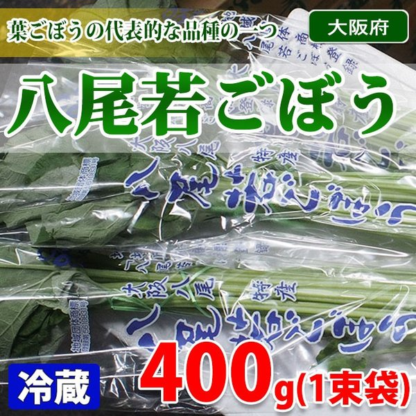 大阪府産 八尾若ごぼう 1束(約400gパック)