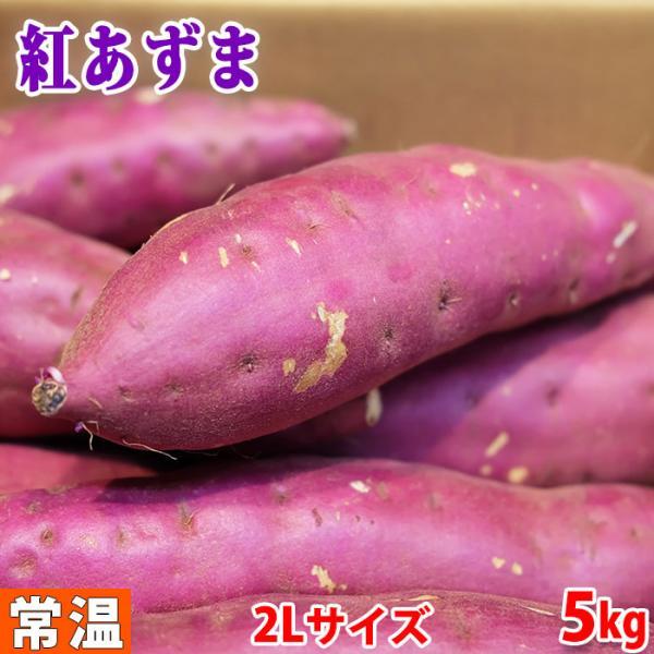 茨城県産 さつまいも 紅あずま(マルタケ) A等級 2Lサイズ(約8〜9本入)5kg(箱)