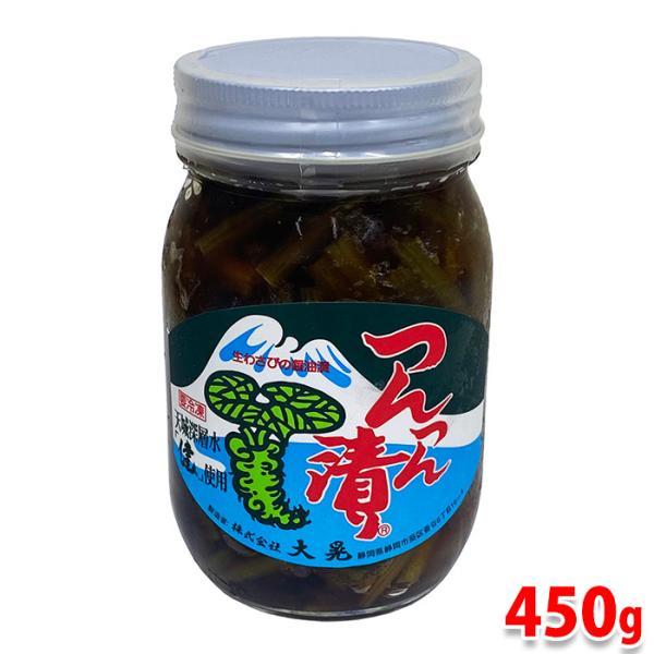 大晃 つんつん漬(生わさびの醤油漬) 450g