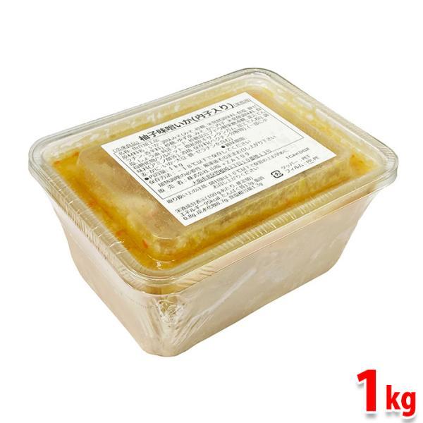 山福 柚子味噌いか(内子入り) 1kg