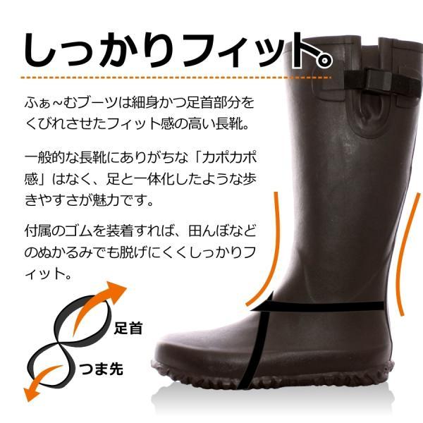 【予約販売】【2017/1/22発送開始】「Sun3San」メンズ・レディースふぁ〜むブーツ/S3S-1701-box/S3S-1702-box【2017 WEX 新作 年間 長靴】|prono-webstore|03
