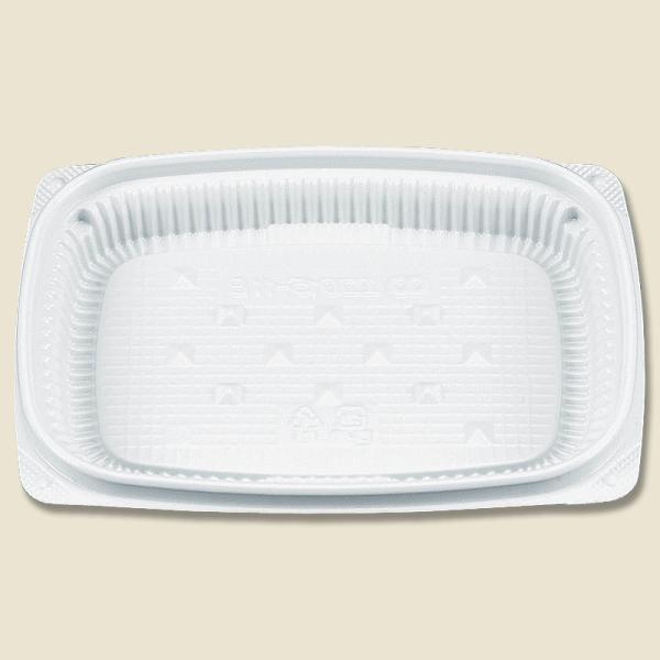 フードパック 業務用 使い捨て 惣菜容器 BFエコD15-11B 白 本体 50枚