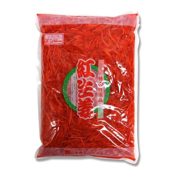 紅生姜 業務用 千切 1kg 味の特選品